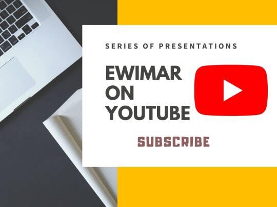 Ewimar w eterze: Druga z cyklu prezentacji po angielsku na Youtube